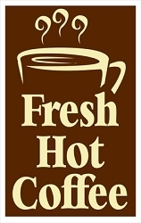 Fresh Hot Coffee