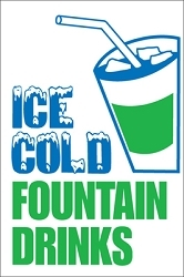 Ice Cold Fountain Drinks
