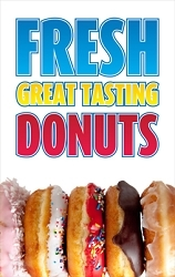 Fresh Great Tasting Donuts