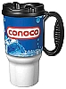 Conoco Branded 16oz Thermal Insulated Car Mug w/ Handle