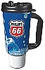 Phillips 66 Branded 32oz Thermal Insulated Car Mug w/ Handle