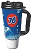 76 Branded 32oz Thermal Insulated Car Mug w/ Handle