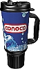 Conoco Branded 32oz Thermal Insulated Car Mug w/ Rubber Bottom & Handle