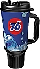 76 Branded 32oz Thermal Insulated Car Mug w/ Rubber Bottom & Handle