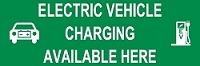Electric Vehicle Charging Station 3' x 8' Banner