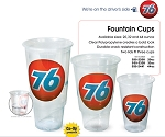 76 Branded - 44oz Fountain Cup