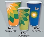 BP Helios Branded - 44oz Paper Cold Cup