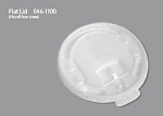 White Flat Lids (Fits 12oz, 16oz, 20oz, 24oz Hot Trophy Cups)
