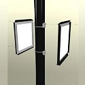 Pole Sign Two-Frame Pole Mounting Bracket Model 899DB