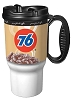 76 Branded 16oz Thermal Insulated Car Mug w/ Handle