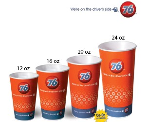 76 Branded - 24oz Trophy Hot Cup