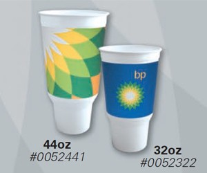 BP Helios Branded - 32oz Plastic Cold Cup