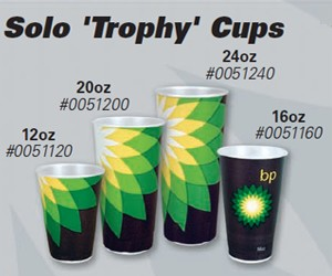 BP Helios Branded - 16oz Solo Trophy Hot Cup