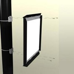 Pole Sign Single Frame Pole Mounting Bracket Model 898SG