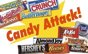 Candy Attack - Pump Topper Insert