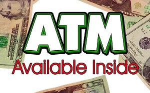 ATM Available Inside - Pump Topper Insert